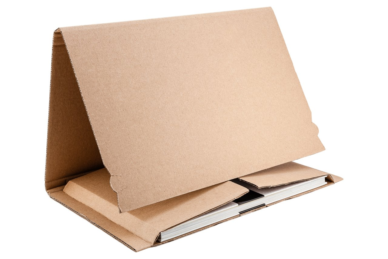 Boekverpakking 210x150xH60mm.