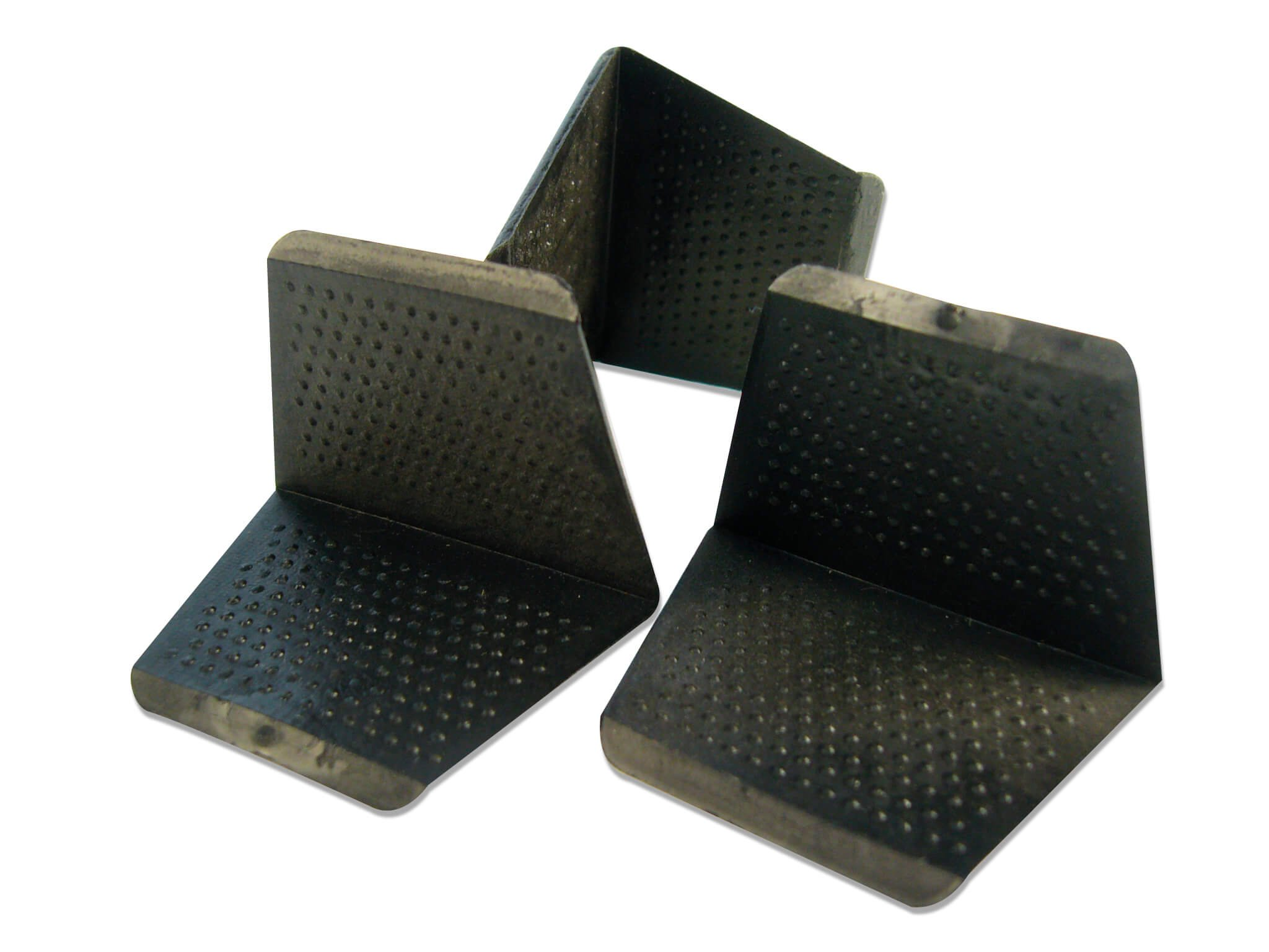 Pallethoekjes 35/24mm. zwart