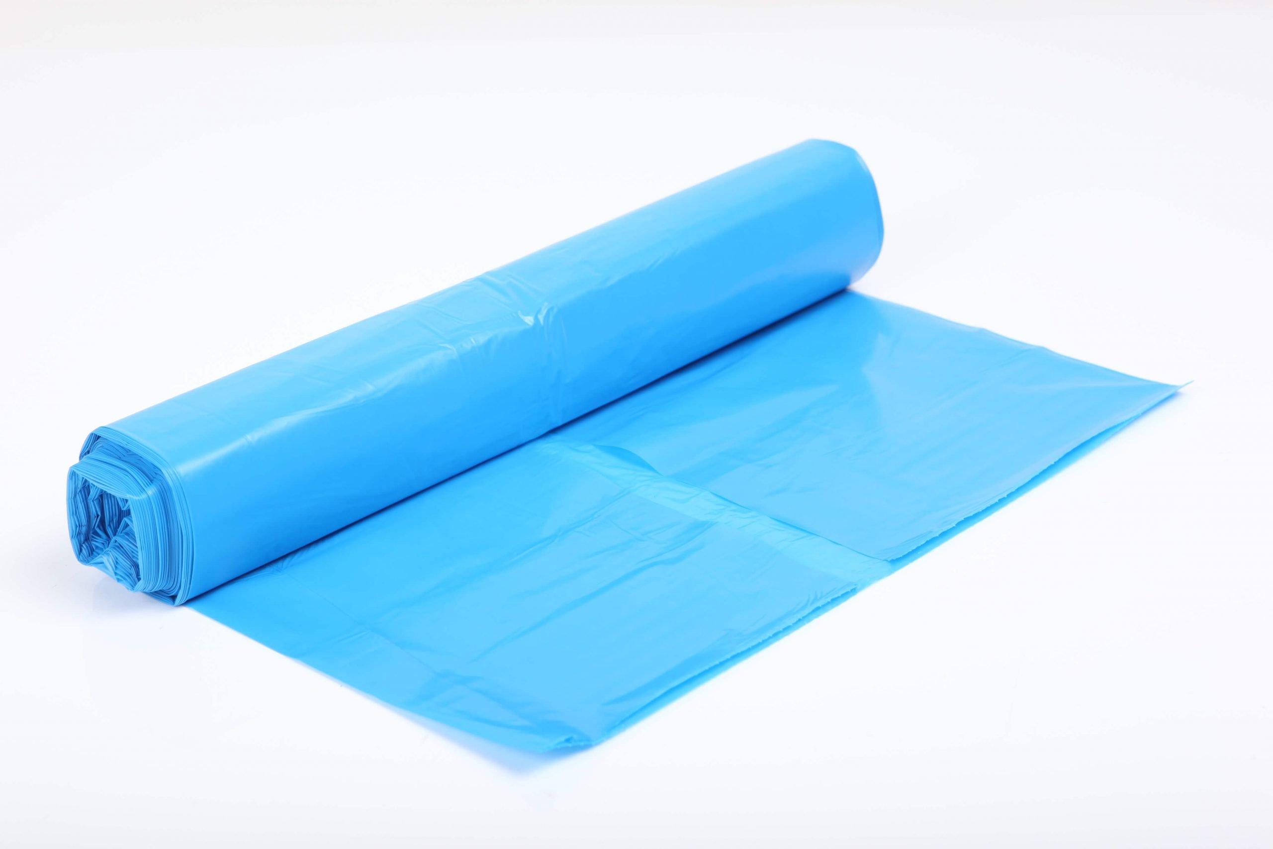 Afvalzak 70x110cm. blauw 30my