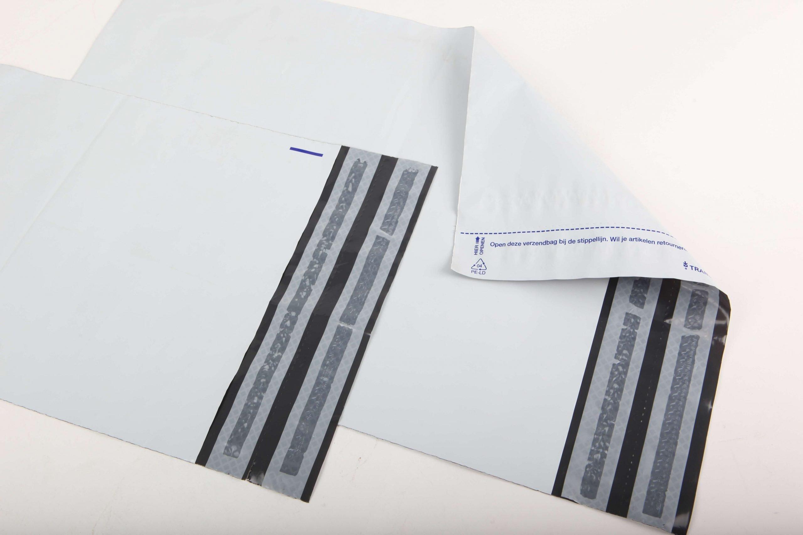 Verzendenveloppe / mailorderzak wit