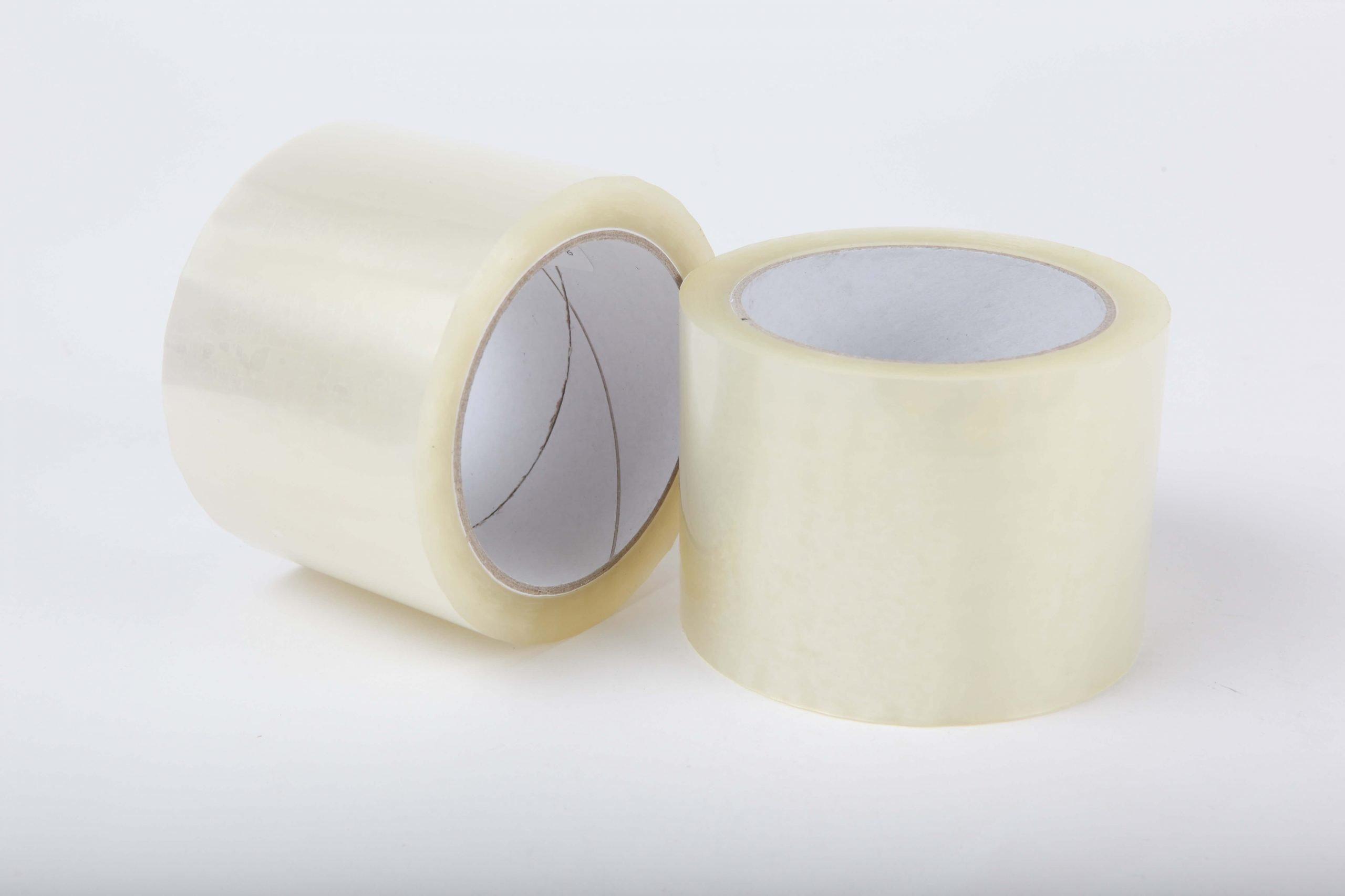 Tape 75mm.x66mtr. transparant